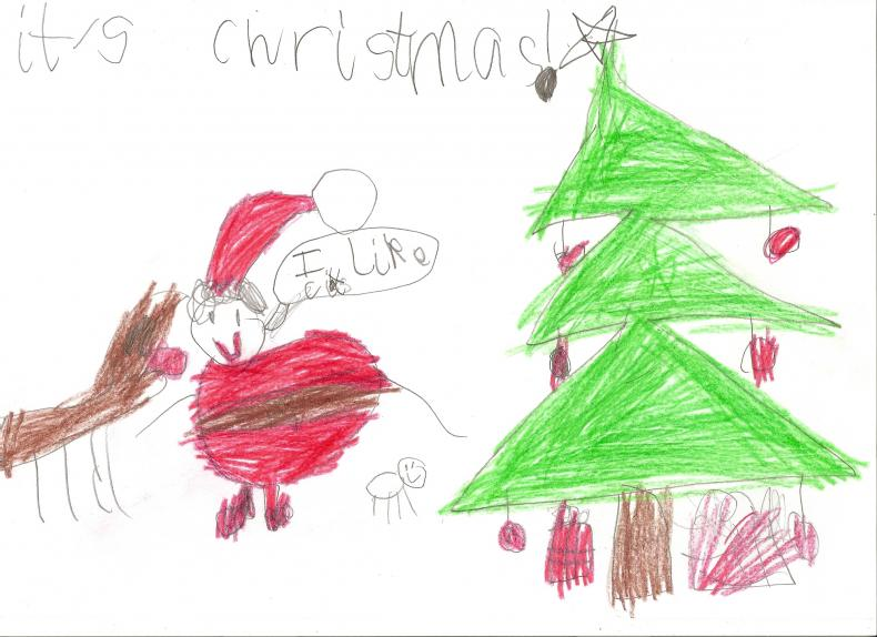 Christmas Day Drawing Images.Christmas Day Children S Drawing Archive